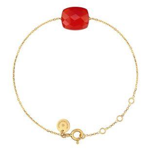 Bracelet Or Jaune Coussin