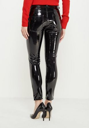 Vinyle Jeans Pantalons Leggings