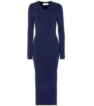 Victoria Beckham Robe pull en laine mélangée