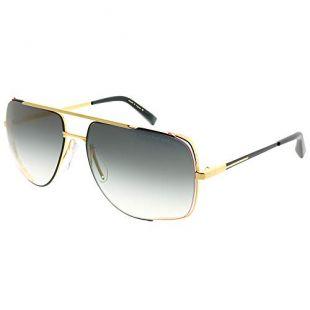 Dita Midnight Special Yellow Gold Black/Gold Dark Grey Shaded 60/16/140 Men Sunglasses