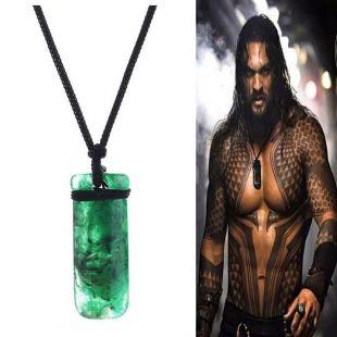 2018 Film Aquaman Maori Jade Toki Pendentif Collier Cool Cosplay Props Nouveau