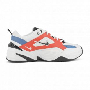 Nike M2k Tekno orange/bleu Blanc