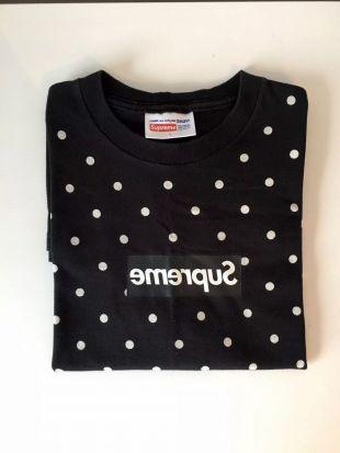 Supreme X CDG Polkadot Box Logo T-shirt