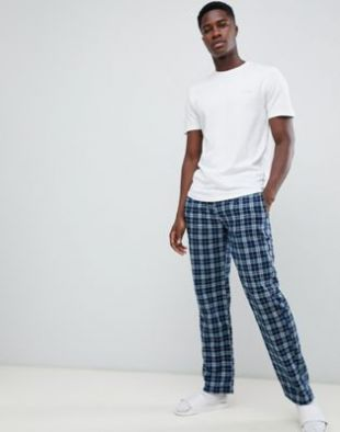 Ted Baker lounge pants & t shirt set in check