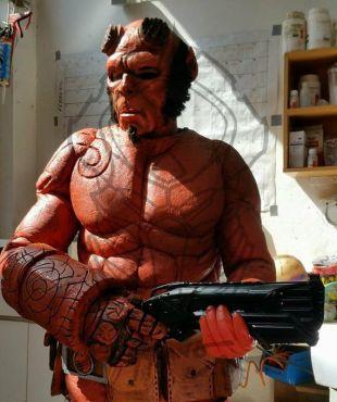 Cosplay Costume HellBoy