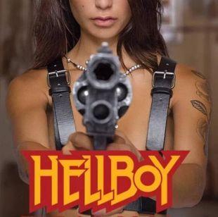 Samaritain de Hellboy énorme Revolver Sideshow taille