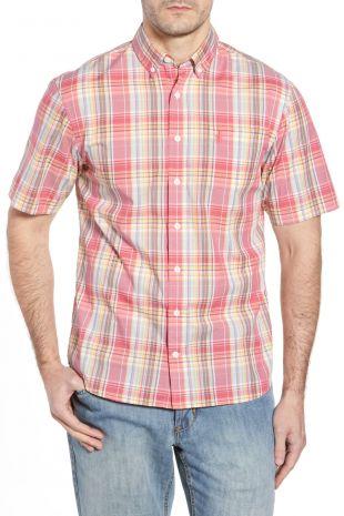 Johnnie O | Glenn Classic Fit Plaid Sport Shirt | Nordstrom Rack