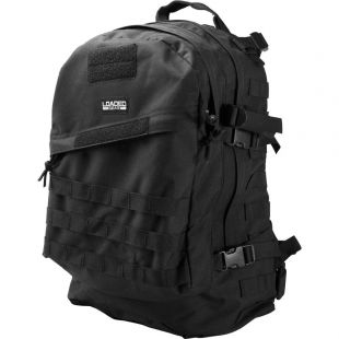 Loaded Gear 16 in. GX-200 Tactical Backpack, Black