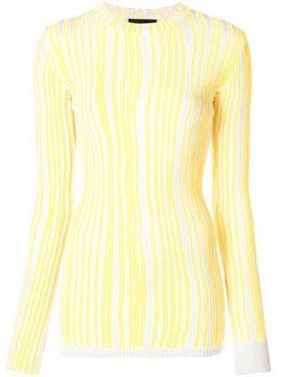 Calvin Klein 205W39nyc Striped Sweater