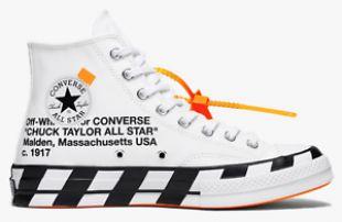 THE 10: Converse Chuck Taylor 70s Hi Off White 2.0 x Virgil Abloh 163862C UK11 | eBay