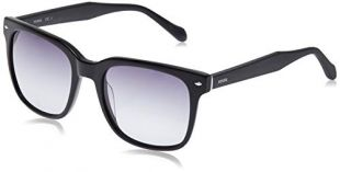 Fossil Men's Fos 2056/s Square Sunglasses, BLACK, 53 mm