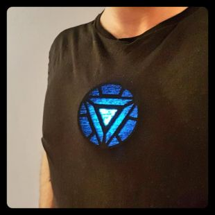 Arc Reactor Iron Man Wearable Prop Replica for cosplay costume