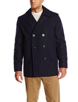 Tom Ford Cotton Pea Coat Worn By, Cotton Peacoat By Tom Ford