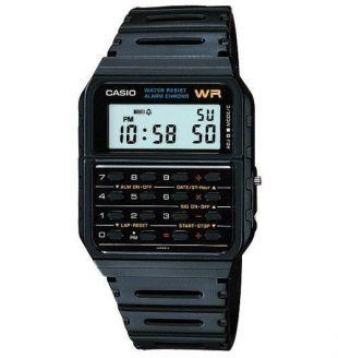 Casio CA53W-1 Men's Classic 8 Digit Chronograph Alarm Calculator Watch