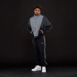 Survêtement Nike Throwback Gris Cool