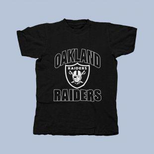 Vintage Los Angeles Oakland Raiders Unisex Black Large Size T-Shirt  | eBay
