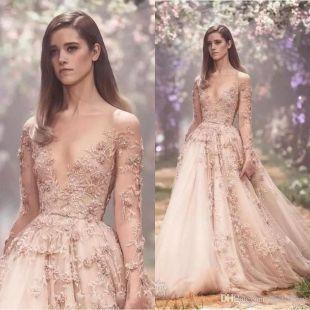 Paolo Sebastian Floral Longsleeve floral dress