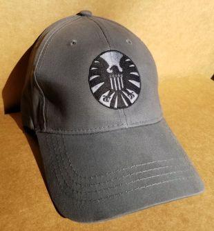 74466d469 S.H.I.E.L.D. Hat Cap in Grey worn by Carol Danvers / Vers (Brie ...