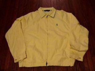 Polo Golf Ralph Lauren Light Yellow Windbreaker Jacket