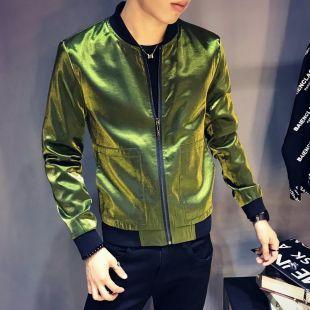 Bright Bomber Jacket for Men