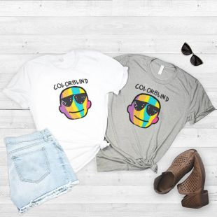 Color Blind t-shirt 2018