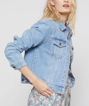 Etam Veste en jean 100% coton
