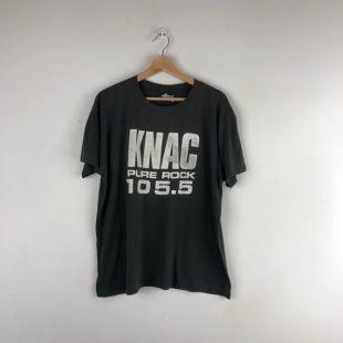 Vintage Knac Pure Rock 105.5 black t-shirt