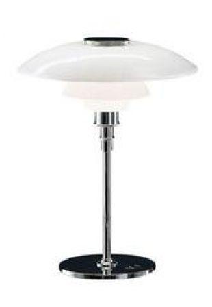 Louis Poulsen PH 4/3 Glass Table Lamp