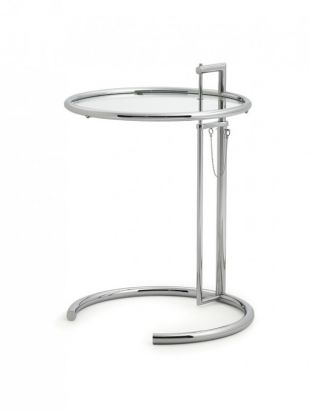 Adjustable Table E1027 Designed by Eileen Gray, produced by ClassiCon