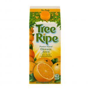 Tree Ripe Premium Natural No Pulp Orange Juice , 59 Fl. Oz.