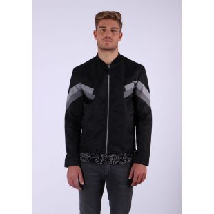 Blouson à patch work Marel