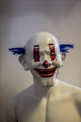 Réplique du masque de Clown vu dans le film The dark Knight Le chevalier noir
