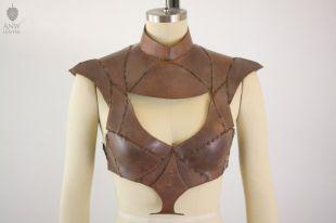 Daenerys cuir Armor Game of Thrones réplique Qarth Cosplay en cuir véritable fait main sur mesure fait ComicCon Wondercon DragonCon