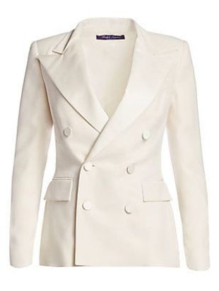 Ralph Lauren Collection Camden Silk Tuxedo Jacket