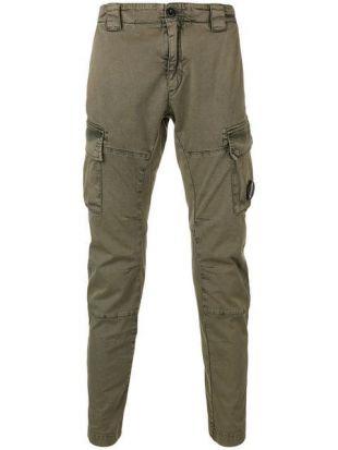 C.P. Company Pantalon Fuselé à Poches Cargo