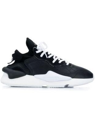 Y-3 Baskets Kaiwa noire et blanches