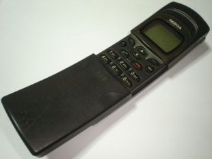Nokia 8110 NHE-6BX matrix cell phone made in finland