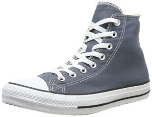 The sneakers Converse All Star grey worn by Chris Chambers