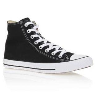 Les chaussures Converse noires montantes de Marty McFly