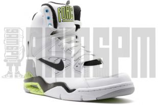 the pair of Nike Air Command Force WhiteGrey 'david