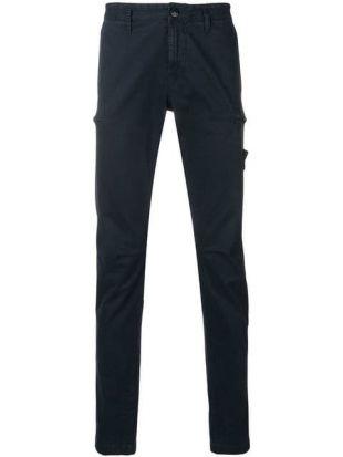 Stone Island Pantalon Chino Slim
