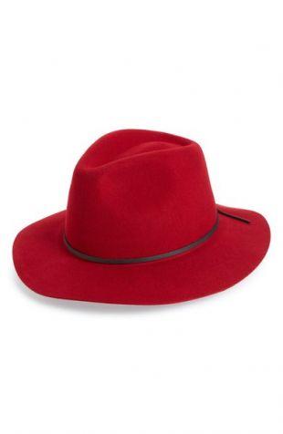 chapeau Wesley rouge