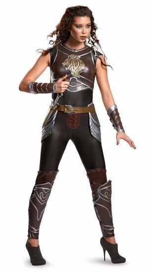 Disguise Warcraft Garona WOW World of Warcraft Adult Prestige Women's Costume