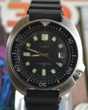 Vintage Mens Seiko Divers Automatic Watch 6105-8110 Apocalypse Now