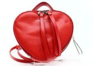 sac coeur rouge