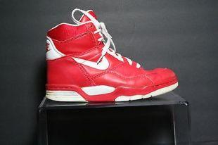 Nike Quantum Force Vintage OG 1990 Basketball Sneaker Multi Red Men 9 Athletic