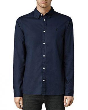 ALLSAINTS Redondo Slim Fit Button-Down Shirt