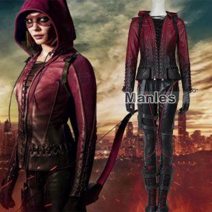 Green Arrow season 4 Red Arrow Thea Queen Speedy Cosplay Full Costume Set