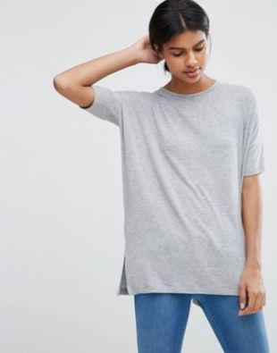 ASOS - T-shirt drapé oversize