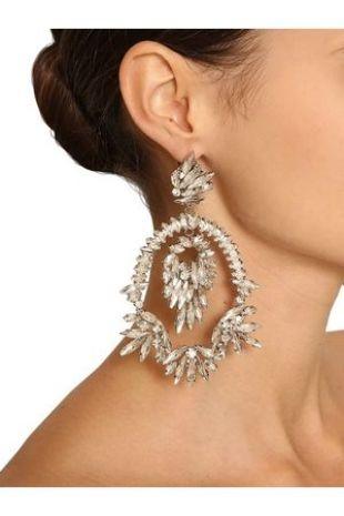 Raisa & Vanessa Crystal Pendant Earrings